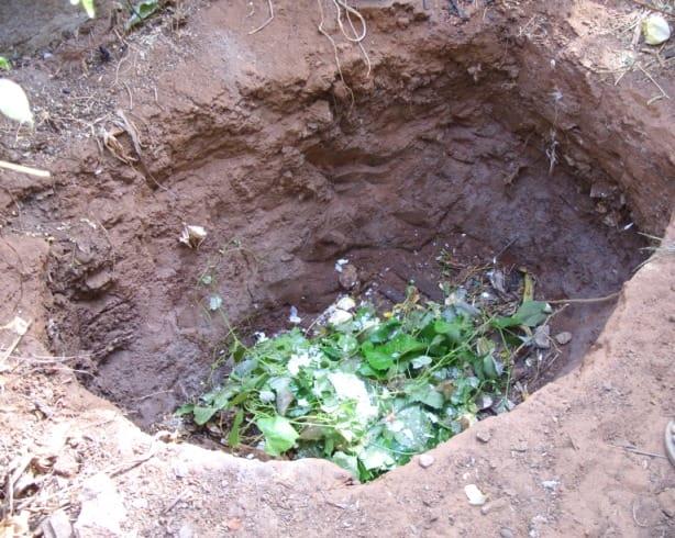 Самая простая компостная яма