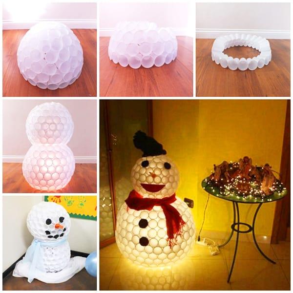 Как сделать своими руками снеговика в домашних условиях 55