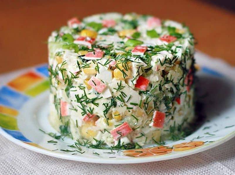 Слоеные салатики быстро и вкусно рецепты