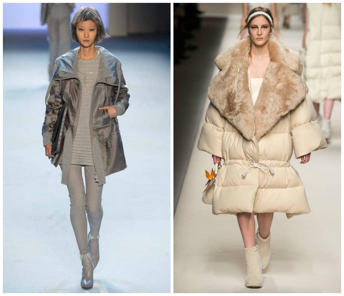 Модные зимние куртки 2017