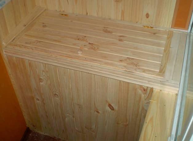 Шкаф,ящик под картошку на балкон деревянный утепленный стиро.