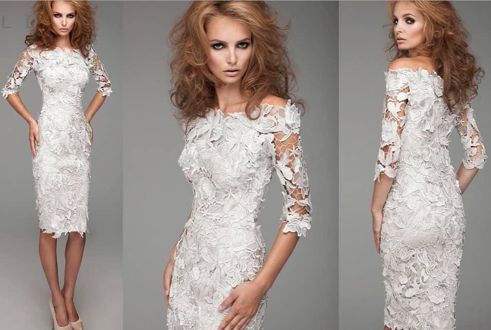 Платье Кружевное Купить