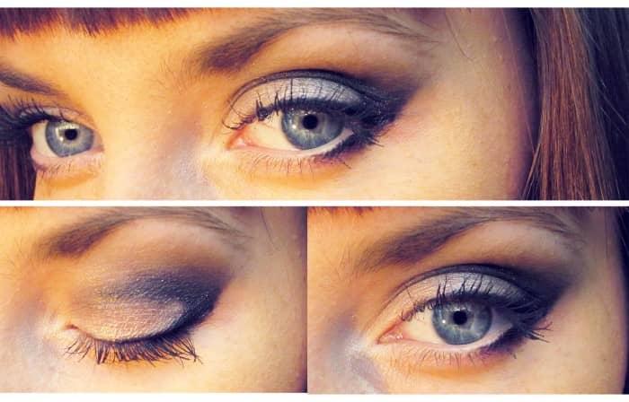 Пошаговое фото как накрасить глаза с нависшим веком
