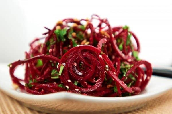 Рецепти салатів з червоного буряка