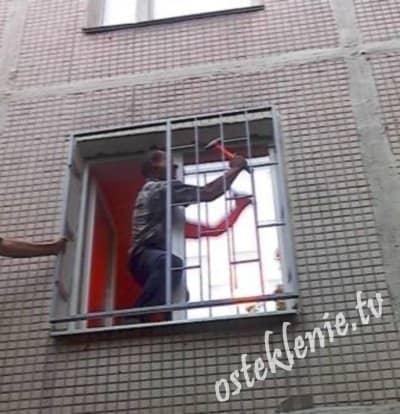 установка металлических решеток на окна скидки акции стоимость