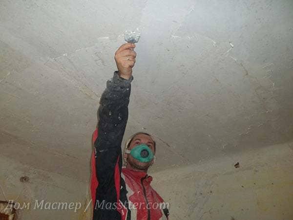 Выравнивание потолка из плит своими руками 96