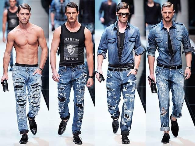 103501cc29f48263db59a2d60767c2b1 Рвані джинси весна літо 2016  модні жіночі  і чоловічі моделі на фото fa45f58e2e84b