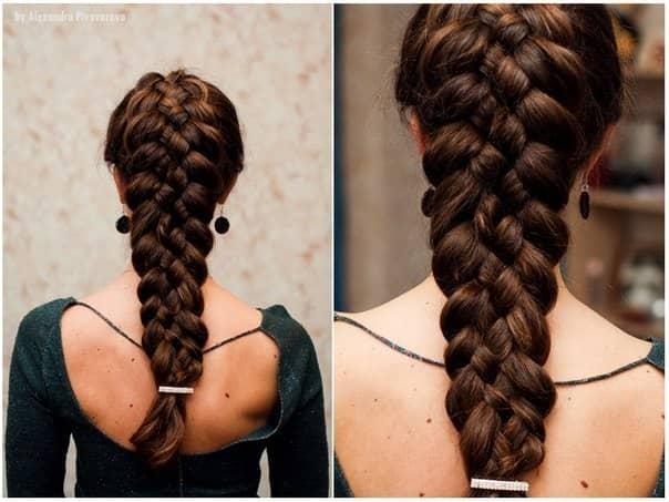 Плести прически для длинных волос