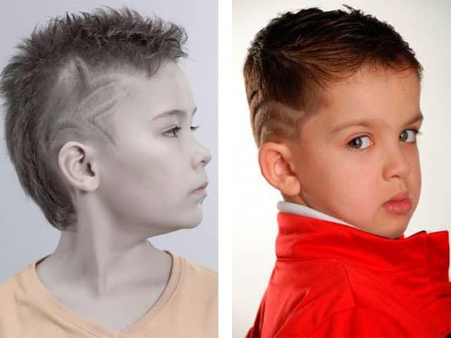 Короткие причёски для мальчиков