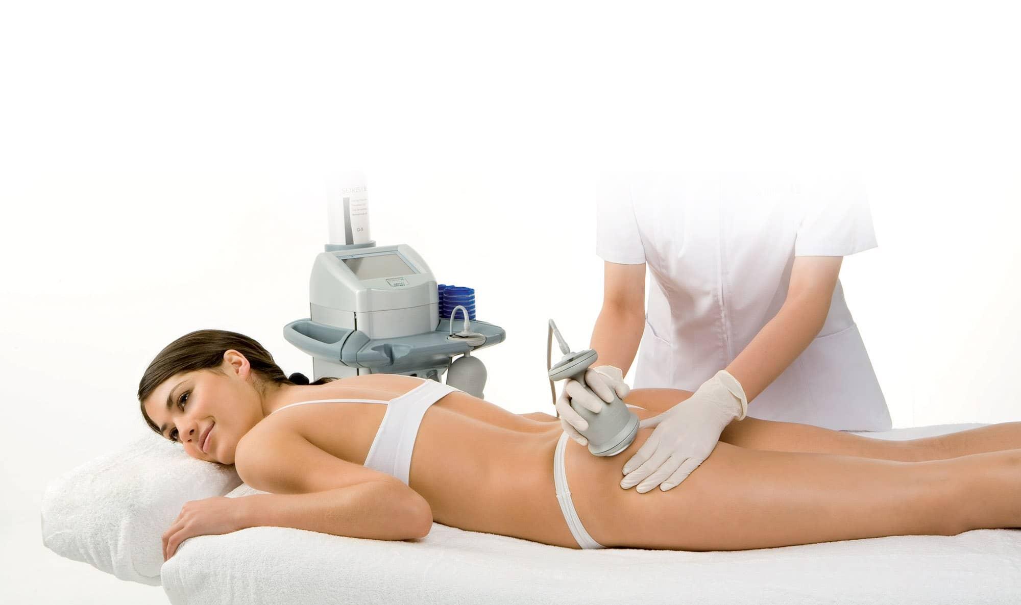 Комплекс процедур для похудения в салоне красоты