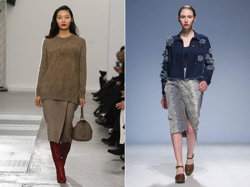 Юбки 2017 года модные тенденции для полных