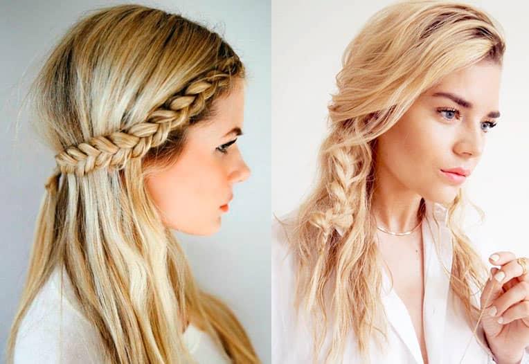 Прически для длинных волос на лето косы