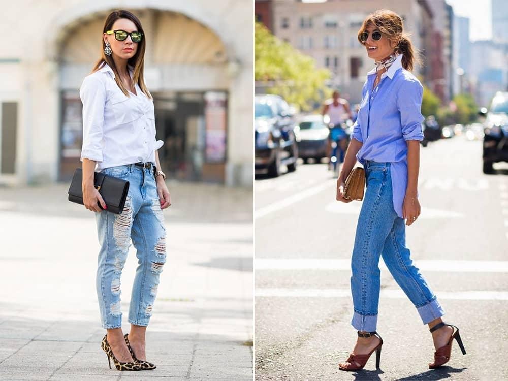 bc0cacec638406cd9c2192d1bfe10a7b З чим носити джинси бойфренди  58 образів  з фото a2f5f5752a208