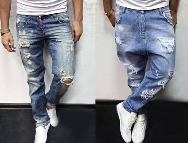 df5a97b4041c062cd3324bbdc77cfdcd Рвані джинси весна літо 2016  модні жіночі  і чоловічі моделі на фото d6f1658bba449