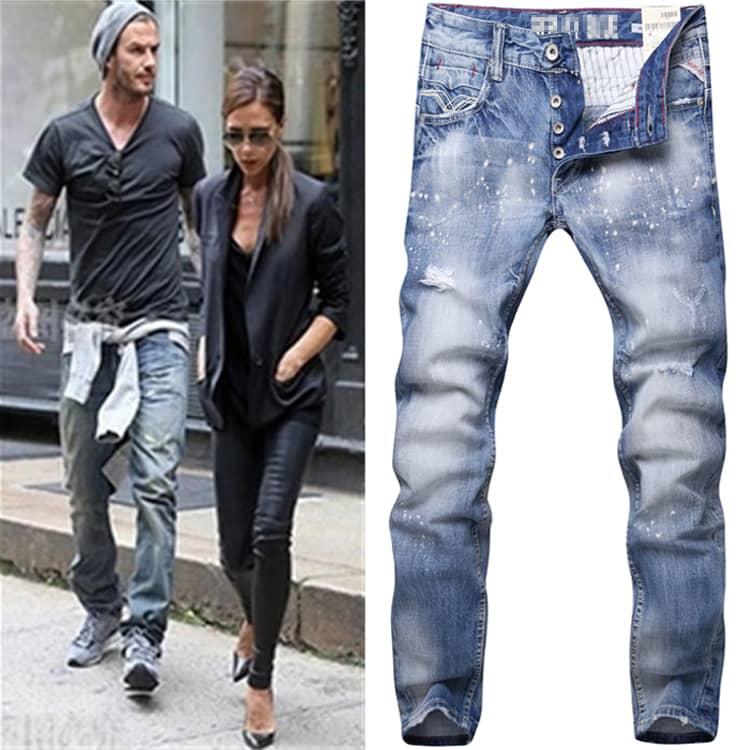 ed56f719bf0881e4524a0fbcacec1ea0 Рвані джинси весна літо 2016  модні жіночі  і чоловічі моделі на фото e4c66a4f8c3b4