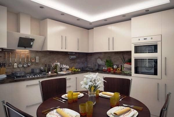 Дизайн кухни с интерьером фотогалерея