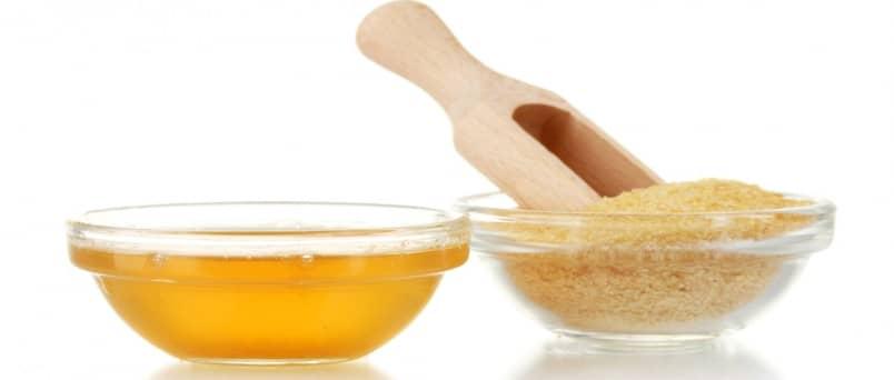 Желатиновая маска для лица с медом