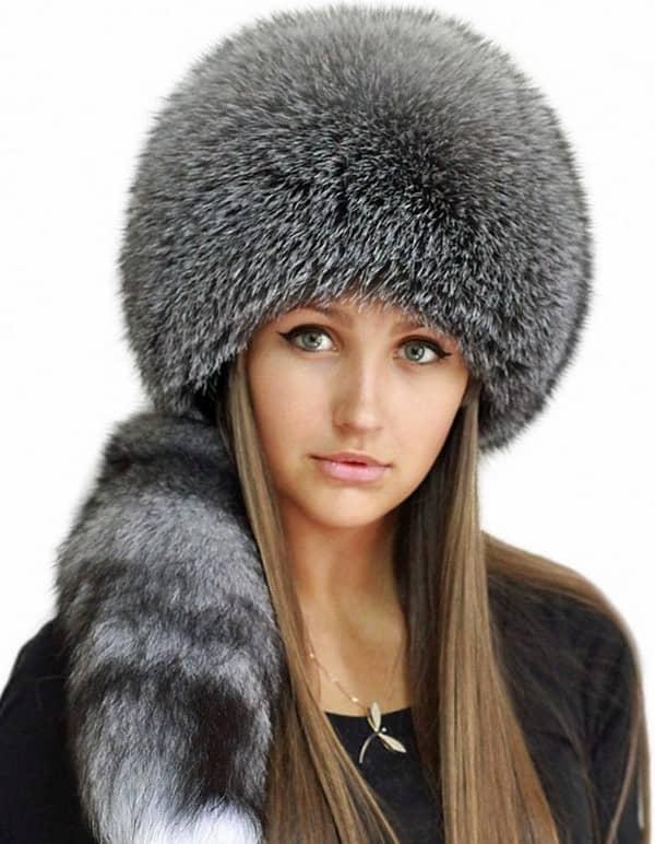 Модні зимові жіночі шапки 2017-2018  фото 482c9f8052cfb