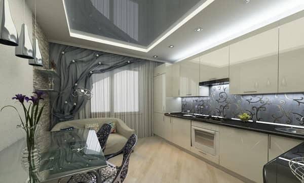 сучасний дизайн кухні фото кухні в сучасному і класичному дизайні