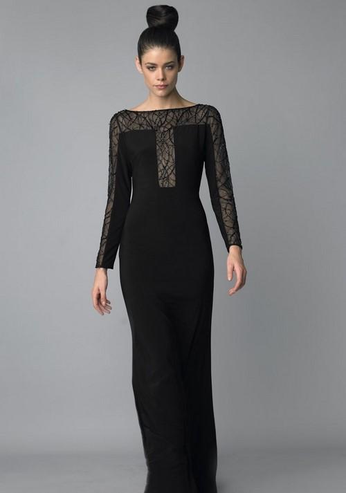 Маленькие черные платья 2017-2018 новинки