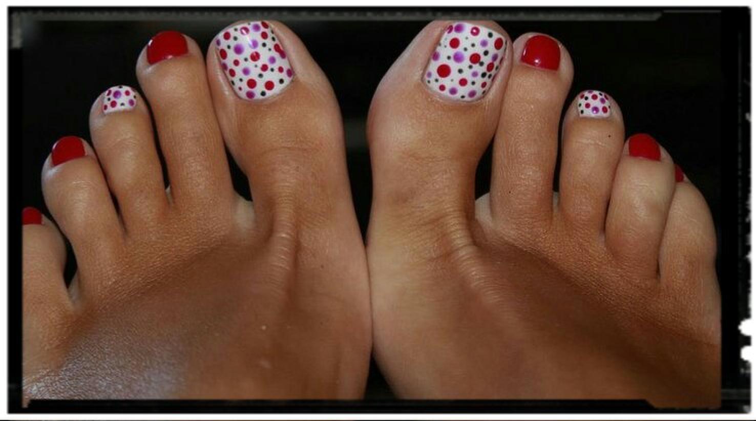 Шеллак на ногах (фото с примерами) - фото и описание примера 40