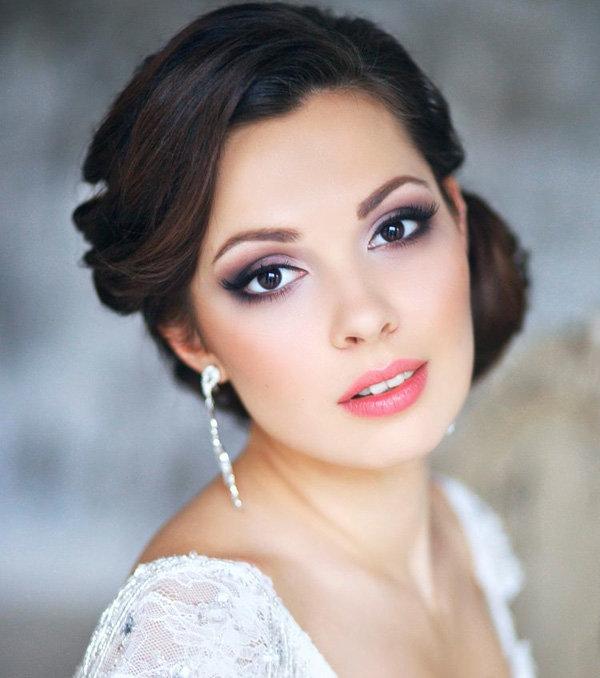 80300c89c67365 Весільний макіяж 2017 – модні тенденції з фото: актуальні напрямки ...