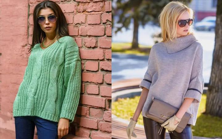 Вязание спицами для девушек модные модели 2018 года с описанием на зиму 74
