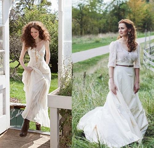 Свадебные Платья Рустик Купить
