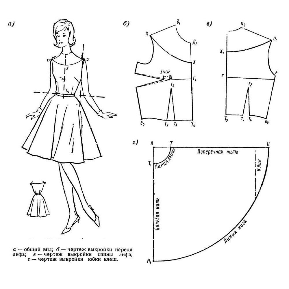 Платье костюм сшить самой 20