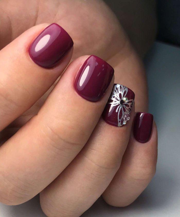 Дизайн ногтей гель -лаком фото новинок маникюра