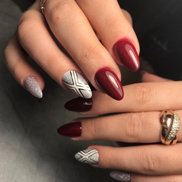 Какие ногти сейчас в моде в 2018 году фото свои или нарощенные