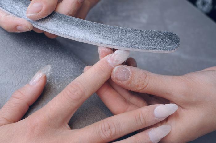 Как самой снять ногти из геля в  517